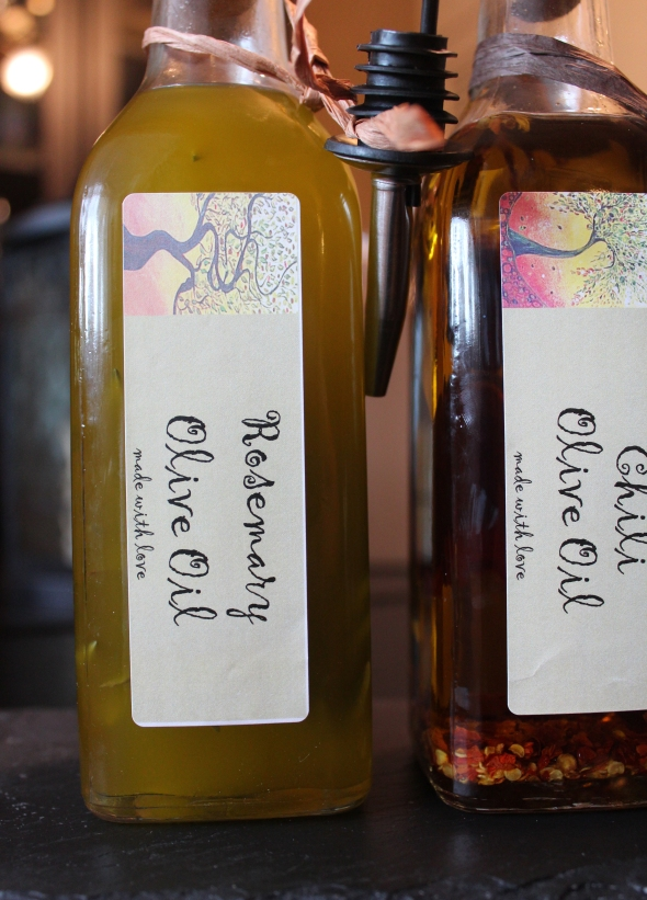 ark Street Posts - infused olive oil for all